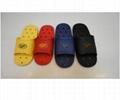cheap China soft bathroom non slip men women pvc slipper with holes