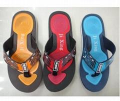 Best quality OEM bulk order camo printed eva sole cheap wholesale men pe flip fl