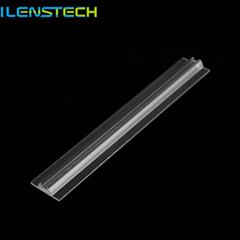 Ilenstech Optical extruded led linear lens for Alumnium profile 2835 5630