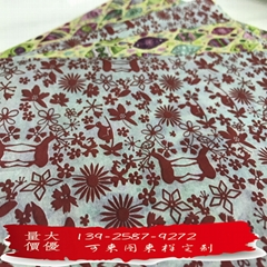 MF printed tissue paper for wrapping and for craft produc