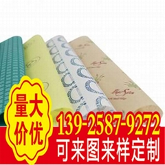 printing grease resistant waxproof waterproof for soap wrapping gift paper