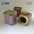 food grade new style square flower tea