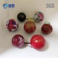 Ball shaped decorative Christmas metal
