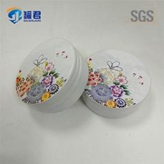 12g round seamless aluminum screw lid metal tin box for hand cream