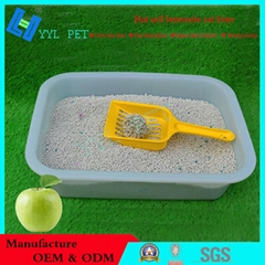 less dust and scented bentonite cat litter