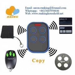 New Design Case Multi Frequency Remote Control Duplicator For Garage Door