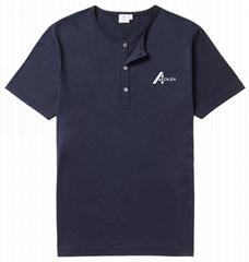 men, Henley shirt t shirt