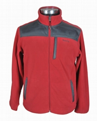 windproof men fleece jacket