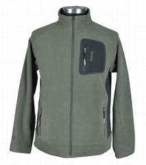 Light weight men fleece jacket