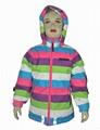 Kids winter ski jacket