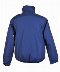 blue color men windbreaker for winter