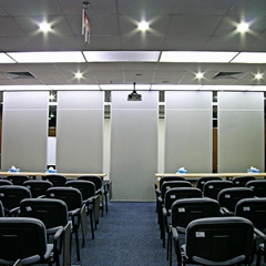 Operable Decorative Acoustic Panel Office Sliding Folding Partition
