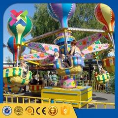 New design cheap amusement kids rides samba balloon with ISO9001