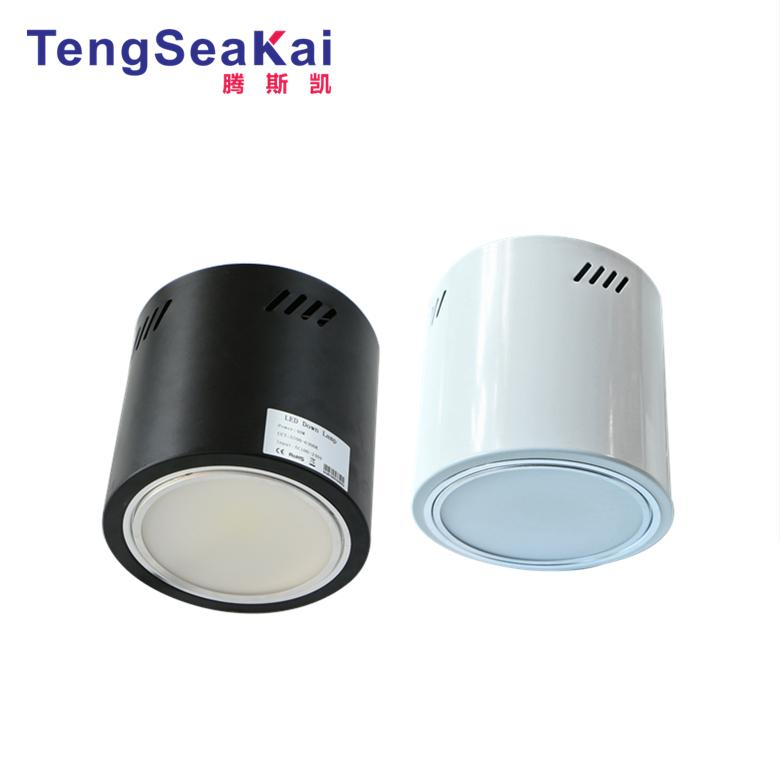 150W led surface mounted led cylinder downlight 0-10V dimmable