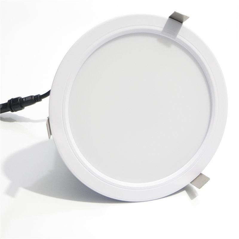 60W 70W 80W 9 inch led downlight round recessed can 200mm 215mm cutout  2