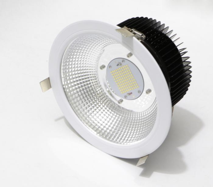 60W 70W 80W 9 inch led downlight round recessed can 200mm 215mm cutout  4