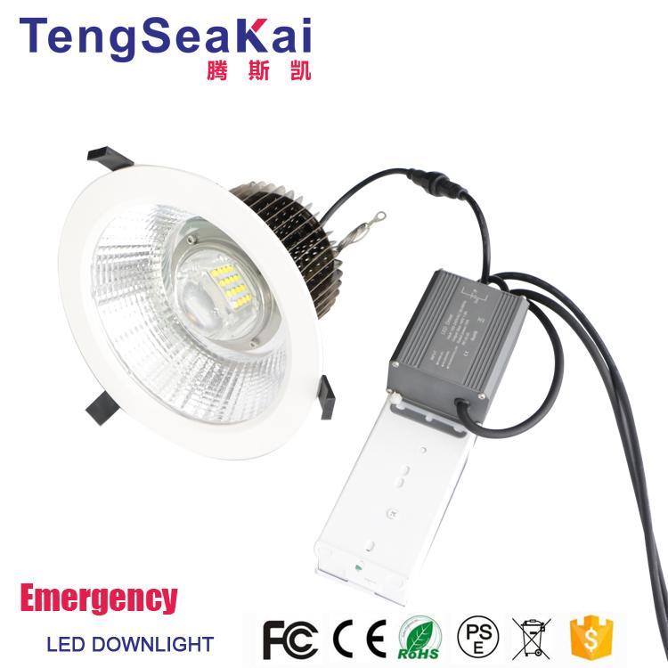 Emergency led downlight 20W 30W 50W 60W 80W Lithium battery backup  2