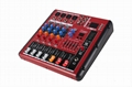 export of mixer 4 chanal mixer direct manufacturers with USB Bluetooth audio  2