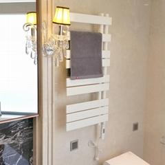 电热毛巾架浴室散热器烘干置物架发热毛巾架
