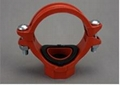 FM/UL ductile iron grooved fitting