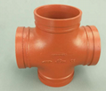 pipe fittng equal cross