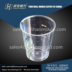 PS disposable thin wall cup mould
