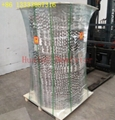 Column Internals Metal structured packing of corrugated perforated plate