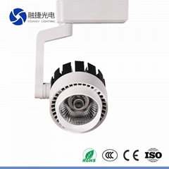 20W 30W 2 3 4 phase rotating light wireless led track lighting