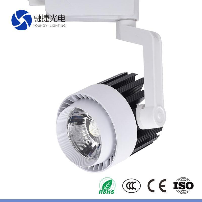 20W 30W 2 3 4 phase rotating light wireless led track lighting 2