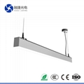 36W led recessed linear light
