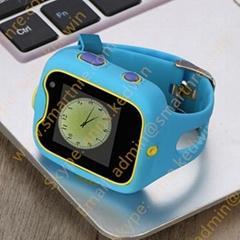 MTK6580最新方案3G 安卓儿童定位手表追踪定位