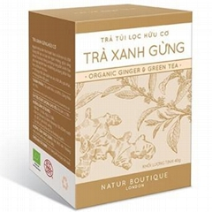 Organic Green Ginger Tea