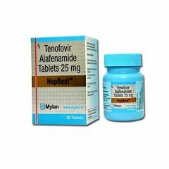 MyLan Tenofovir Alafenamide : Buy HepBest 25 mg Tablets Online