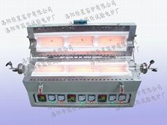 1000-1400 Centigrade High Temperature Openable Tube Furnace