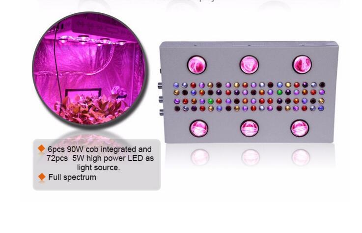 UL Approved 900W COB 5W Chip Led Grow Light 1