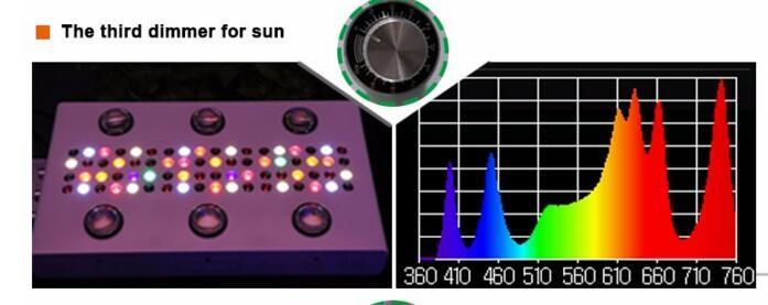 UL Approved 900W COB 5W Chip Led Grow Light 10