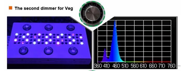 UL Approved 900W COB 5W Chip Led Grow Light 11