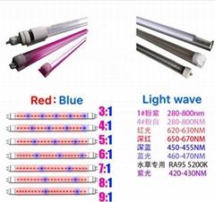 T8-6W LED tube grow light