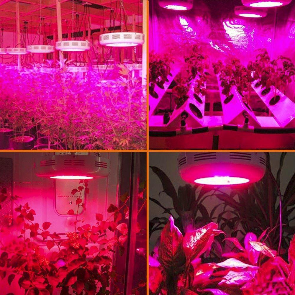 Factory supply greenhouse light full Spectrum 150w UFO LED Indoor grow light 9