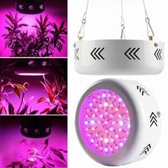 Greenhouse hydroponics LED light full Spectrum 150w UFO Light for vegetables