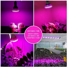 24W LED plant grow light,led spotlight growth,high-Power Led COB light