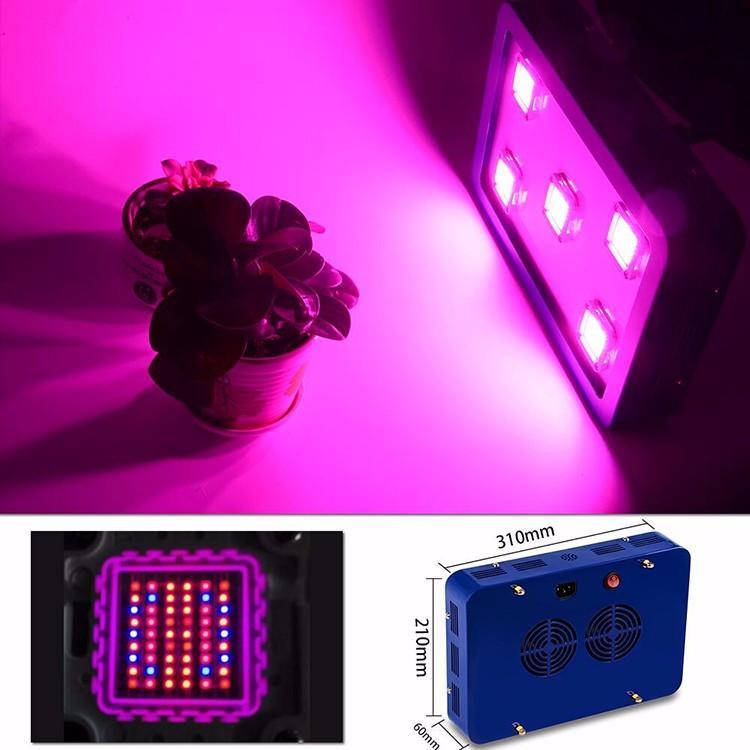 1500W LED plant grow light,high-power led growth,COB grow panel 6