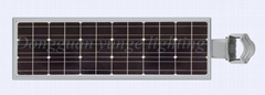 25W Solar Panel,8W LED Integrated Solar light PIR (Working Time 11 hours)
