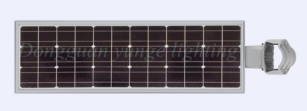 25W Solar Panel,8W LED Integrated Solar light PIR (Working Time 11 hours) 3
