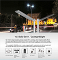 40W Solar Panel,12W LED Integrated Solar light (Working Time 14.5 hours) 6