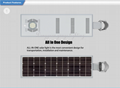 40W Solar Panel,12W LED Integrated Solar light (Working Time 14.5 hours) 7