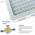 600W LED grow light,high-power panellamp,Full Spectrum120pcs Chips plant light. 6