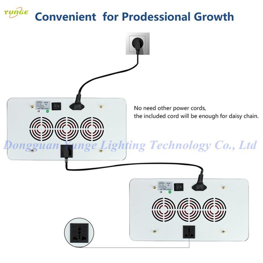 600W LED grow light,high-power panellamp,Full Spectrum120pcs Chips plant light. 8
