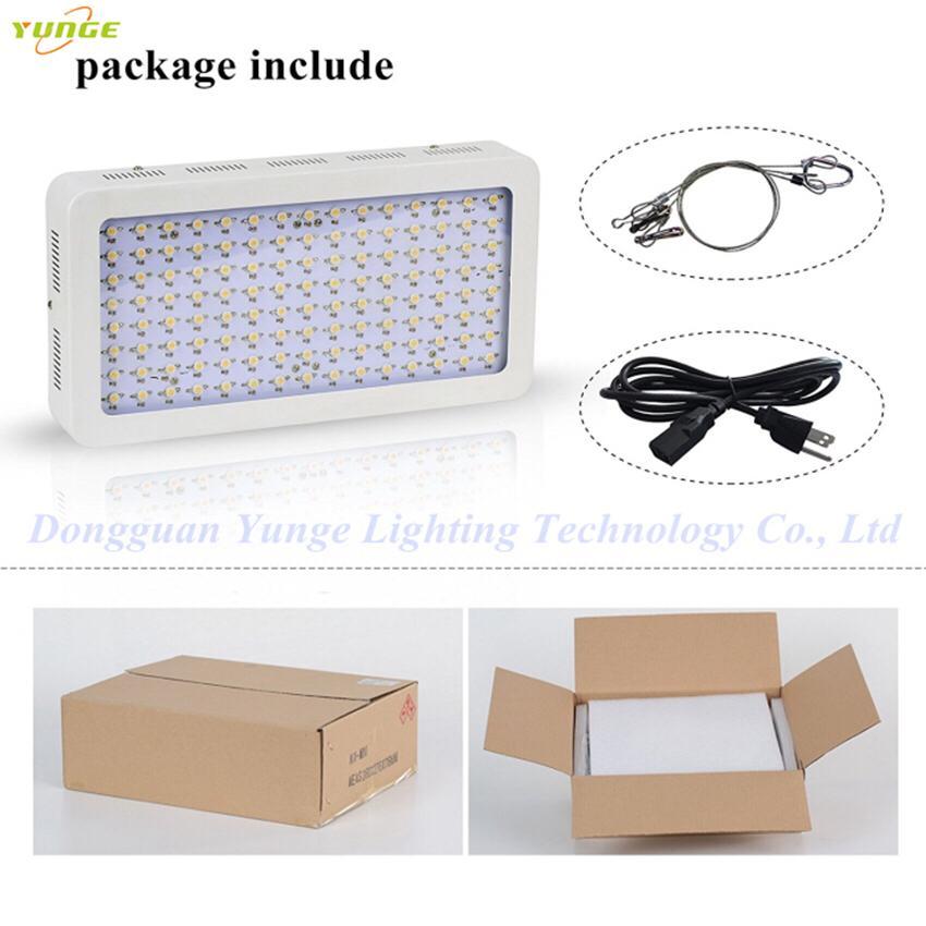 600W LED grow light,high-power panellamp,Full Spectrum120pcs Chips plant light. 9