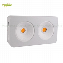 400W COB LED grow light, High-power led plant,high Luminous flux growth.